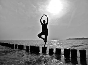 dansen aan zee
